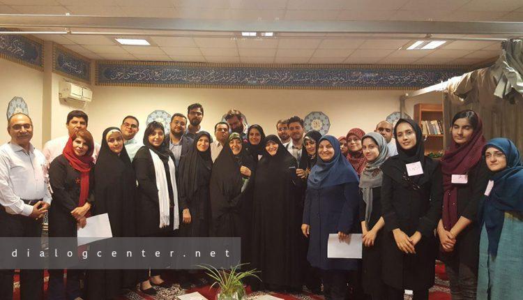 کارگاه مهارتهای گفتوگو برای معاونت امور زنان و خانواده ریاست جمهوری